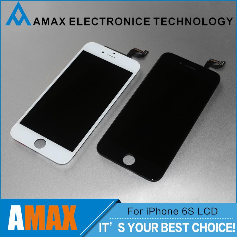 Prix pour 3 PCS/LOT 100% AAA + + + Pour iPhone 6 S LCD Assemblée Avec 3D Écran Tactile D'affichage Remplacement Aucune Dead Pixel Livraison Gratuite