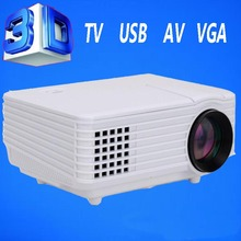 Hot Sell LED Home Theater Video Projector 2000 Lumens Support 1080p 3D 50000hours life