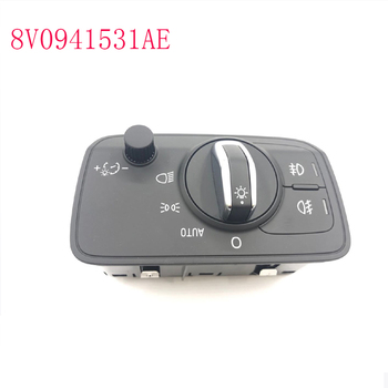 8V0941531 AE 8v0941531ae Headlight fog light control switch button  FOR AUDI A3  8V0 941 531 AE 8v0 941 531 ae Headlight switch