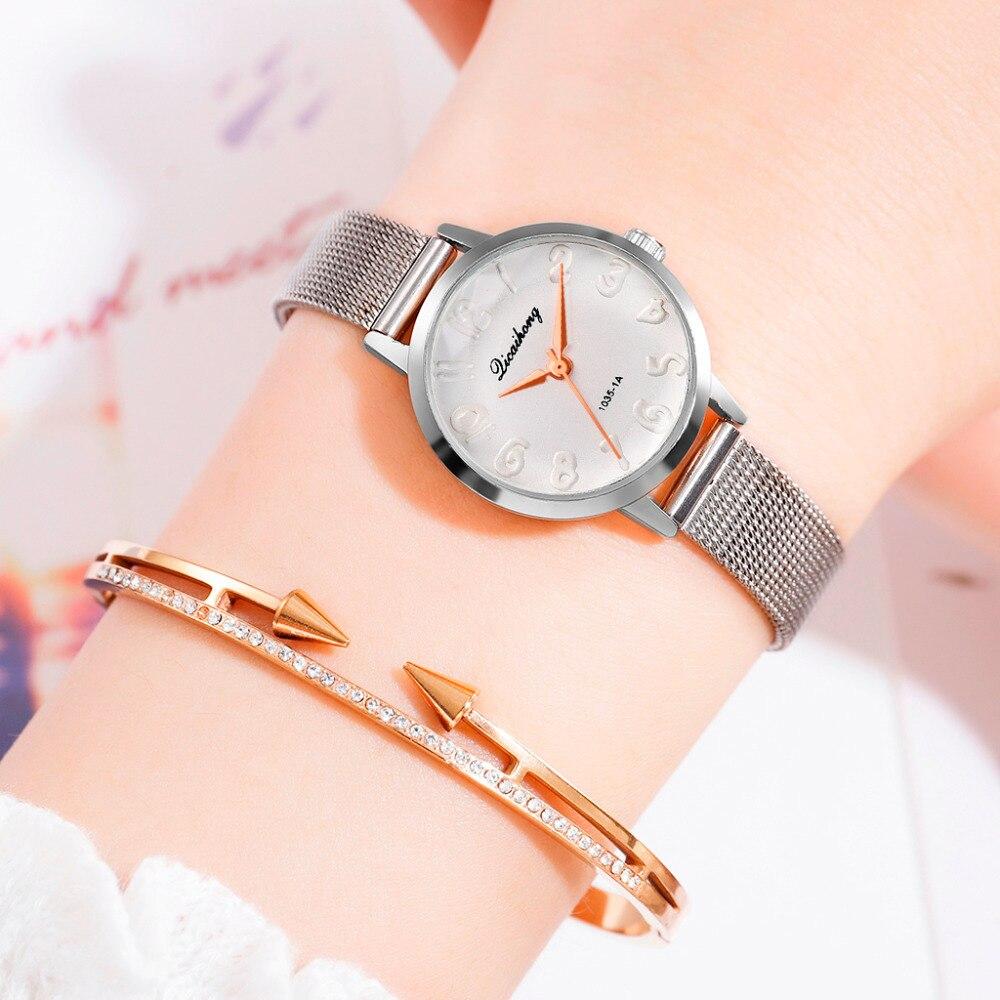 Women Watches Luxury Brand Mesh belt Ladies Quartz Women Watches 2019 Sport Relogio Feminino Montre Femme Wrist Watch