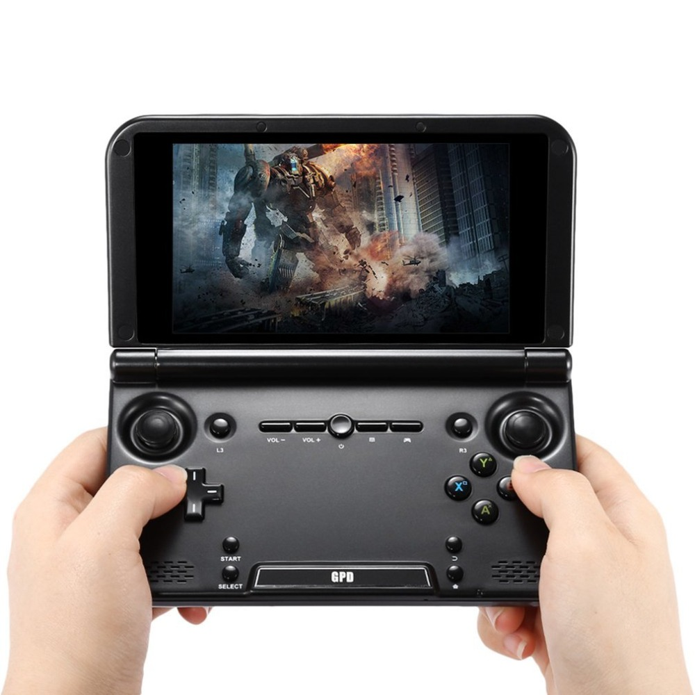 "GPD XD/XD Plus 5"" Touchscreen Quad Core CPU Mali-T764 GPU 2GB RAM&32GB ROM Handheld Game Player Handheld Flip Video Game Console"