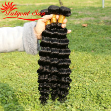 Brazilian Deep Wave Virgin Hair 100 G Bundles Brazilian Curly Virgin Hair Weaves 5 PCS Lot Brazilian Virgin Hair Extension