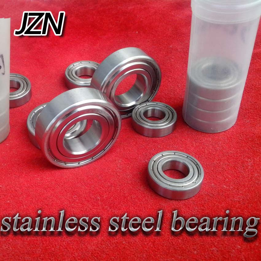 Free Shipping ( 1PCS ) 6200 6201 6202 6203 6204 6205 6206 6207 6208 6209 6210 Stainless Steel Deep Groove Ball Bearings