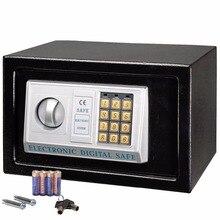 Digitalen safe Coffer für Home Office einsatz Sicherheit Box halten Barzahlung Jewelry oder Dokumente Sicher HW44637