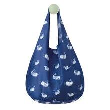 Популярные многоразовые сумки эко-супермаркет сумка-шоппер Складная хозяйственная сумка сумки мешки продуктовые