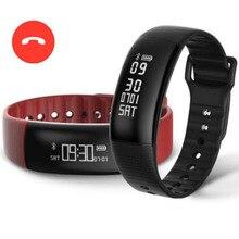Smart Band A69 смарт-браслет сердечный ритм измерять кровяное давление Шагомер Спорт Фитнес браслет вызова SMS WhatsApp PK Xiaomi Mi band 2