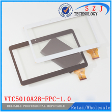 """New 10.1"""" inch tablet vtc5010A28 A3LGTP1000 tablet vtc5010A28-Fpc-1.0 touch screen panel Replacement Parts Free shipping 10pcs"""