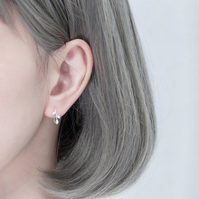 1 Pair Unique Women Leaf Earrings Lovely Girl Korean Style Simple Copper Ear Rings Wedding Bridal Ear Studs(China)