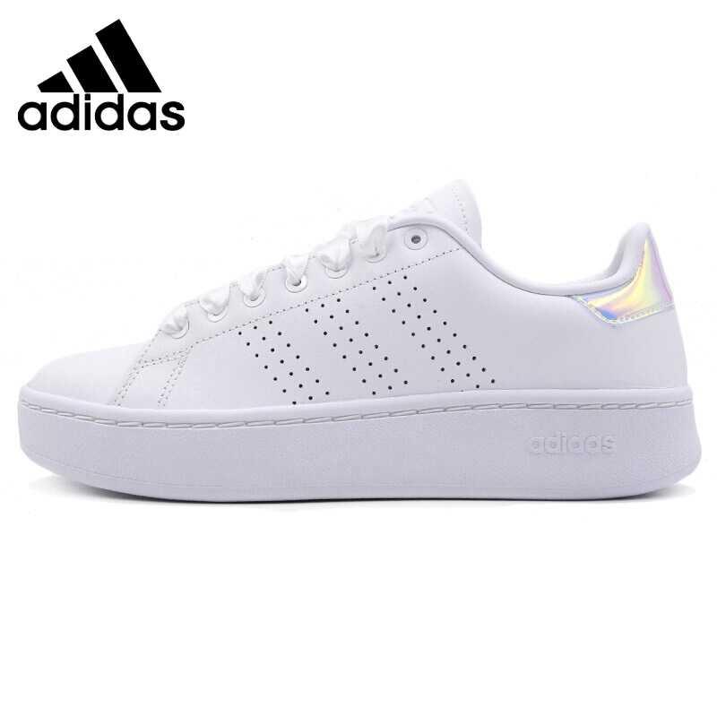 Zapatillas de Skateboarding originales para mujer Adidas NEO ADVANTAGE BOLD