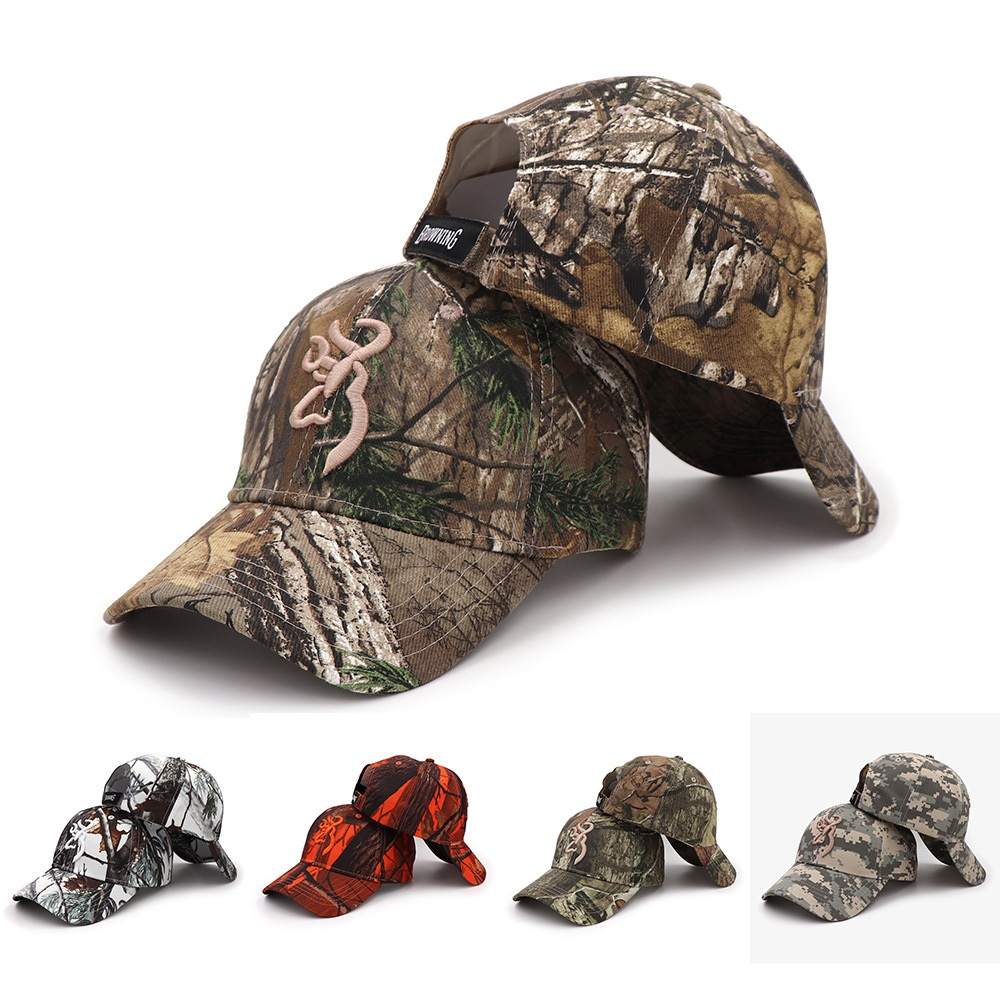 Hats Baseball-Cap Fishing-Cap Camouflage-Hat Hunting Browning Tactical Casquette Jungle