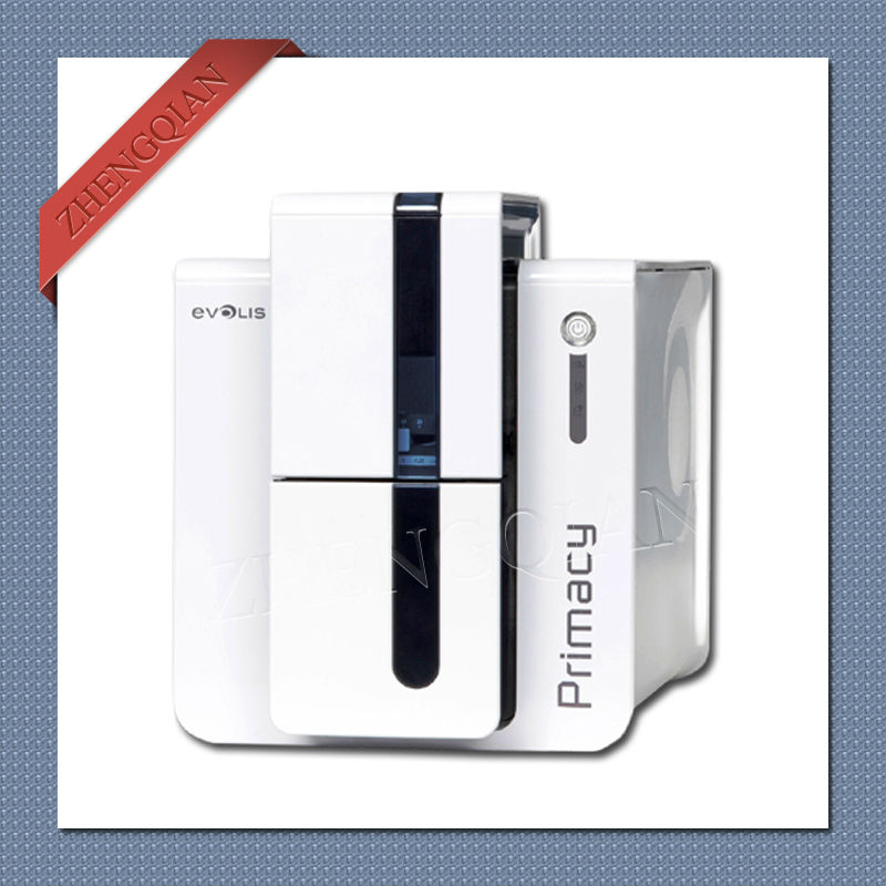 High quality Evolis Primacy id pvc card printer dual side with one R5F008S14 YMCKO ribbon