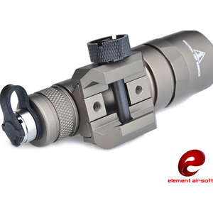 Image 2 - Element Airsoft Softair SF M300B Scout Tactical Weapon Flashlight Aluminum New Version For Hunting 250LM Output LED EX358