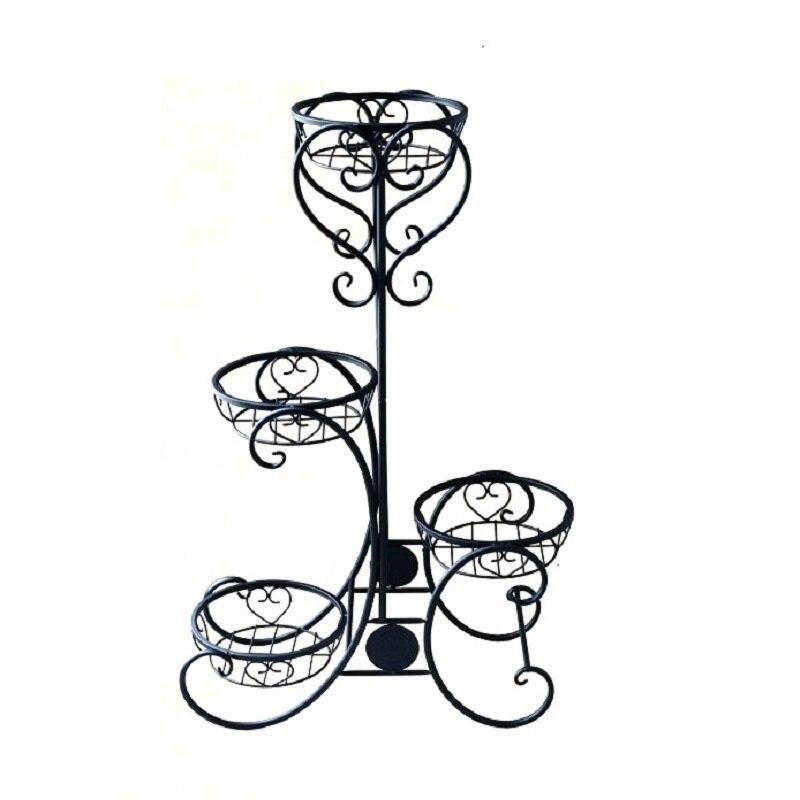 все цены на Planten Rek Metal Raflar Scaffali In Metallo A Ripiani Support Pour Plante Balcone Balcony Balkon Stand Flower Plant Shelf
