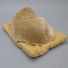 simulation dog brown Golden Retriever hard model polyethylene&furs large 28x18cm,car pandent ,home decoration gift b0379