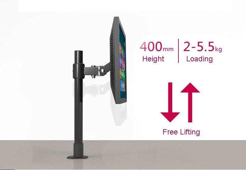 Desktop ЖК-дисплей LED Держатели мониторов Таблица люверсами Крепления для телевизоров кронштейн lk320/40 ...