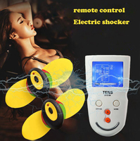 New remote control sex toys electro shock set nipple stimulator electric shock massagers penis electro sex toys for couples
