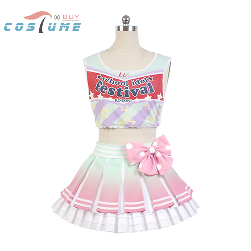 LoveLive! Love Live Kotori Minami Cheerleaders Cosplay Costumes For Women Anime Halloween Cosplay Costume