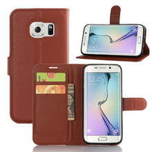 Vintage PU Leather Case for Samsung Galaxy S7 Edge Flip Cover with Card Holder Wallet with Stand Protective Mobile Accessories