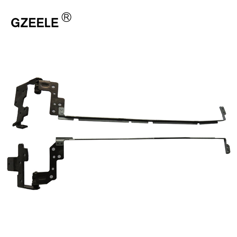 GZEELE New Laptop Lcd Hinges For HP 15-g000 255 G3 256 G3 15-r007nc 15-r008nc 15-r009nc 15-r010nc PN: AM14D000100 AM14D000200