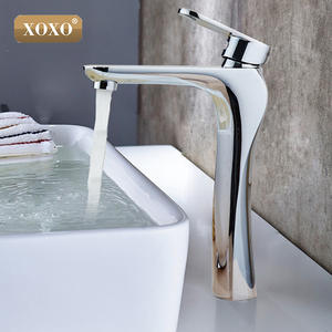 XOXO Faucet-Mixer Bathroom-Products Water-Tap Modern Chrome-Finished Single-Handle Hot-And-Cold-Water-Basin