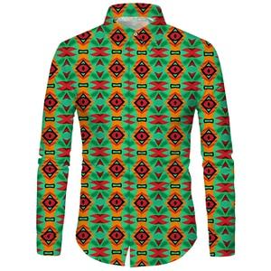 Image 3 - Cloudstyle 3d floral impresso homem camisa casual xadrez camisas hombre vestido camisas de casamento homme camisa manga longa magro ajuste camisas