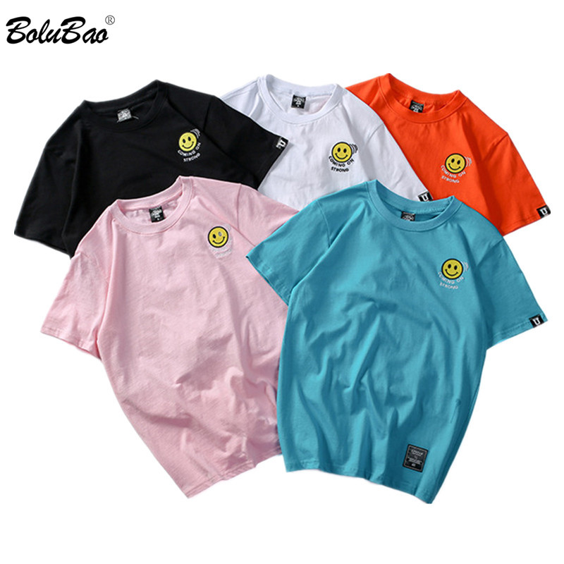 6b1743b48195 BOLUBAO nueva camiseta impresa para hombre 2019 verano Tops de manga corta  Camisetas Hip Hop Casual ...