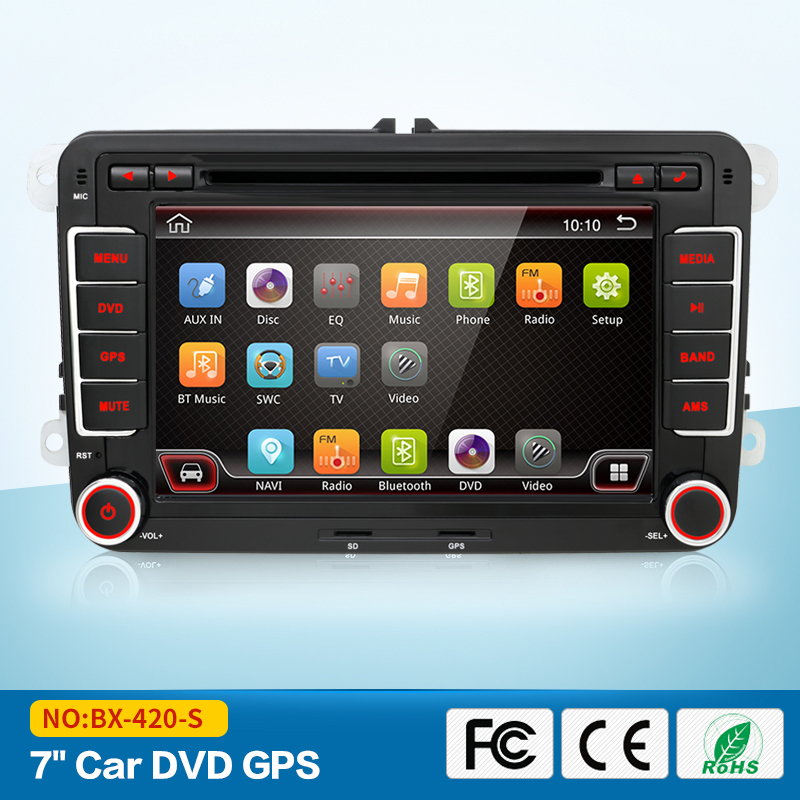 2 din 7 for VW android 6 0 Car DVD player for GOLF 5 Golf 6