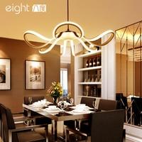 LED Modern Restaurant Chandelier Creative Fixtures Personality Chandeliers Living Room Lighting Simple Bedroom Hanging Lights