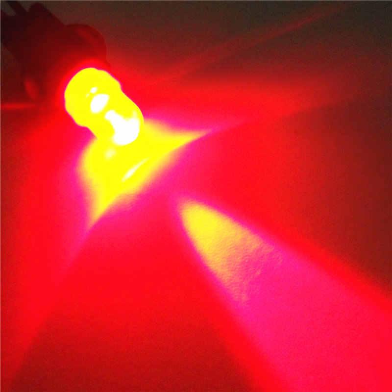 12 V LED Rot Auto T10 (10mm Spot Lampe) W5W, 5d für Tür Stamm Boot Lizenz Leselicht