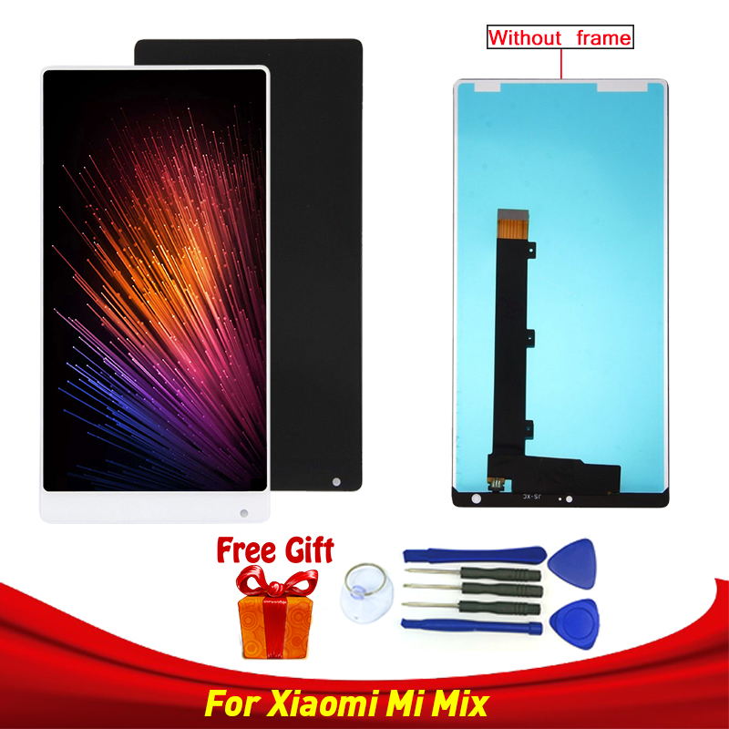 For Xiaomi Mi Mix LCD Display Touch Screen Digitizer Assembly For 6.4 Xiaomi Mi MIX LCD Replacement Parts with frame or withoutFor Xiaomi Mi Mix LCD Display Touch Screen Digitizer Assembly For 6.4 Xiaomi Mi MIX LCD Replacement Parts with frame or without