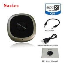 Aptx 2 In 1 Hd Bluetooth V4.1 Ontvanger Zender Draadloze 3.5Mm Audio Adapter Mvo BC8675 APT-X Lage Latency Voor tv Pc Speakers