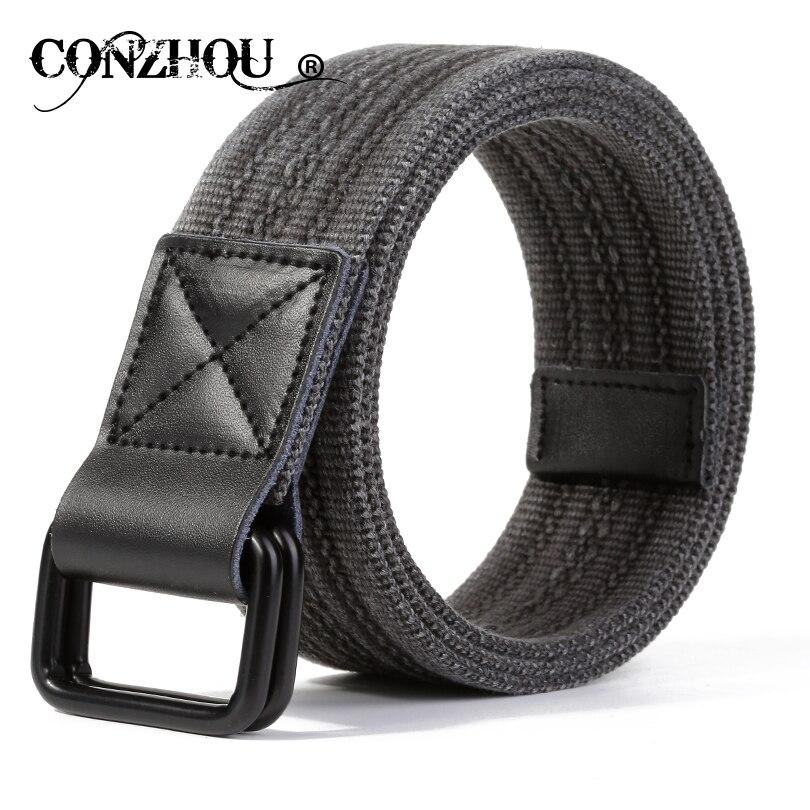 Conzhou نوعية جيدة قماش أحزمة رجالي cowskin - ملابس واكسسوارات