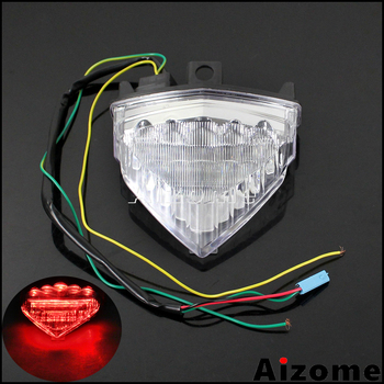 Motorcycle Integrated LED Tail Light For Honda CB1000R 08-2016 CB600F Hornet 07-2014 CBR600F 11-14 Turn Signals Rear Stop Lamp possbay motorcycle led flashing rear tail brake stop light lamp for kawasaki z1000 2014 2015 2016 motor turn signal integrated