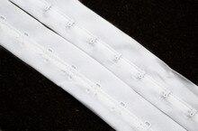 10 ярдов, белые удлинители бюстгальтера, лента, зажимы для бюстгальтера, Корректирующая лента с крючком для глаз, бюстгальтер, аксессуары для одежды WB56