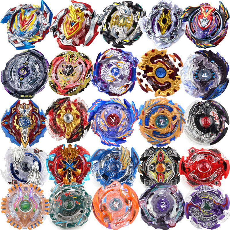 27 New Style Beyblades Without Launcher And Box Toys Toupie Beyblade Burst Arena Metal Fusion God Spinning Top Bey Blade Toy