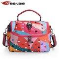 Women Genuine Leather Bag 100% Sheepskin Messenger Bags Handbags Famous Brands Designer Female Handbag Shoulder Crossbody Bag