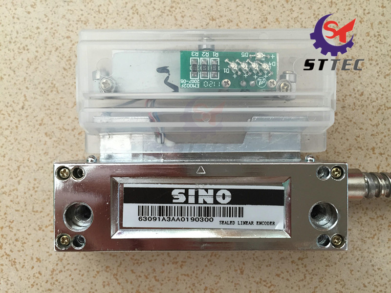 Sino KA-300 linear glass scale optical reading head best price linear scale 5micron linear encoder 120 170 220 270 320 370 420 470 520mm optical linear ruler free shipping
