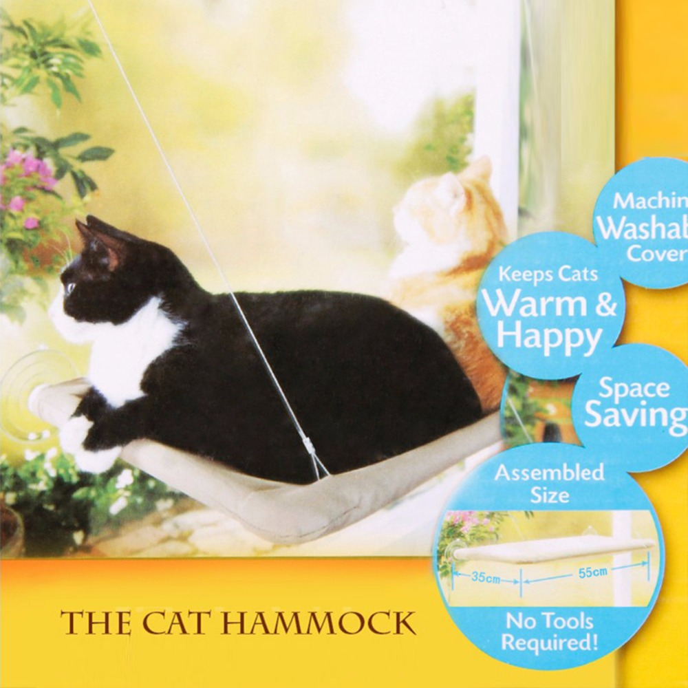 Hanging Cat Window Hammock 1