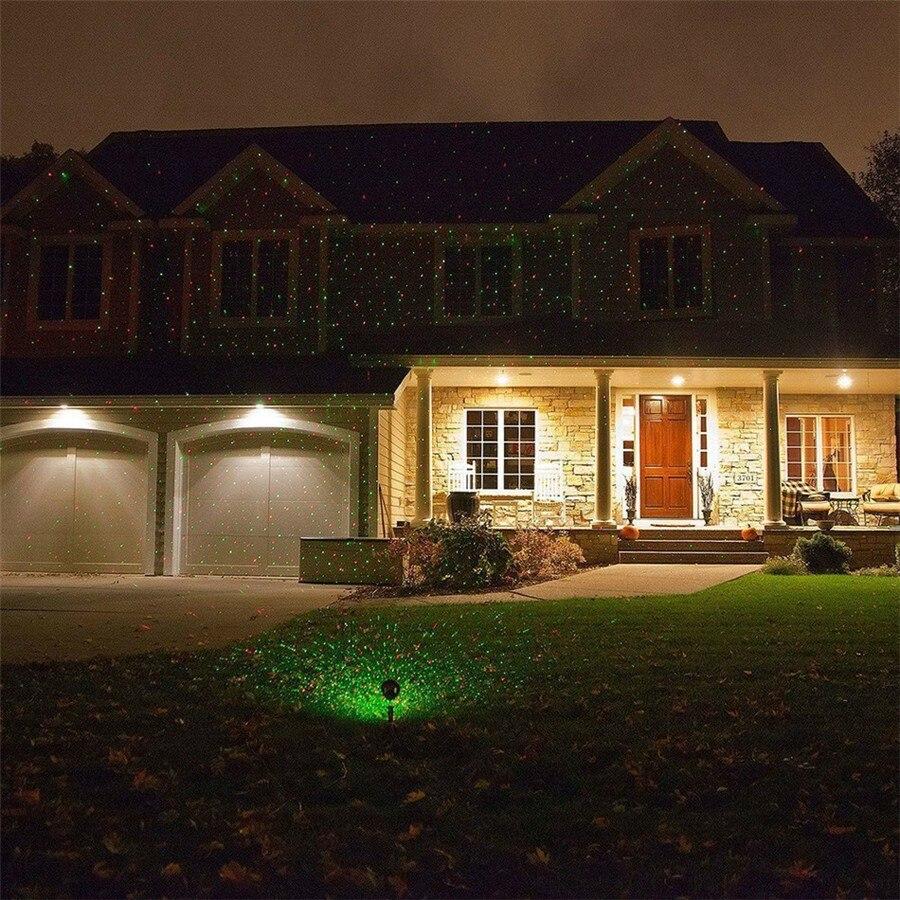 Weihnachten Laser Scheinwerfer Premium Outdoor Garten Park Haus ...