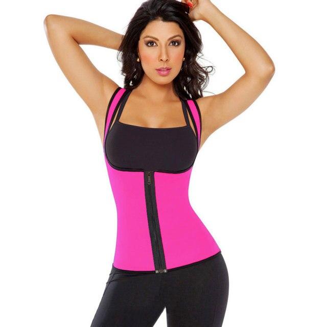 Entrenador cintura caliente shapers underwear adelgaza shapers slimming body shaper body mujeres neopreno redu sudor delgada corsés cinturón