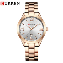 CURREN Hot Fashion Creative Watch Women Dress Wrist Watch La