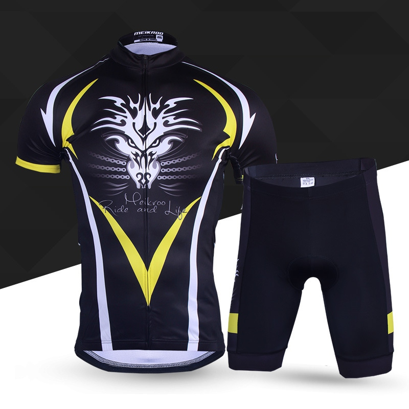 Dragon Tactic Cycling Jeresey Sets Suits Short Sleeve Clothing Equipment Tights Ropa Ciclismo Bicileta Bike Maillot MTB Bike