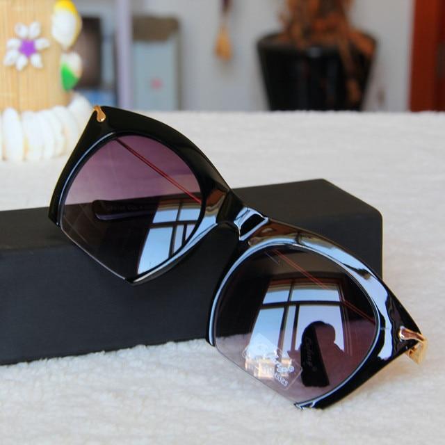 Top fashion cat eye sunglasses mulheres marca designer vintage semi-sem aro óculos de sol feminino oculos de sol feminino 2016 gafas