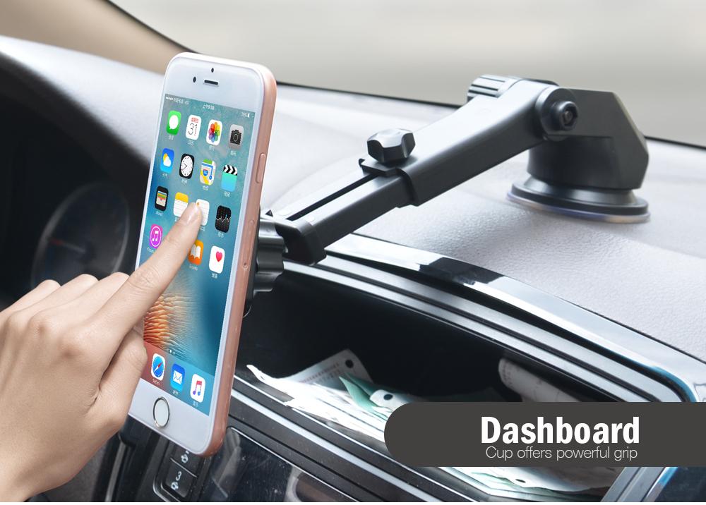 Cobao teleskop auto handyhalter für iphone 7 auto windschutzscheibe