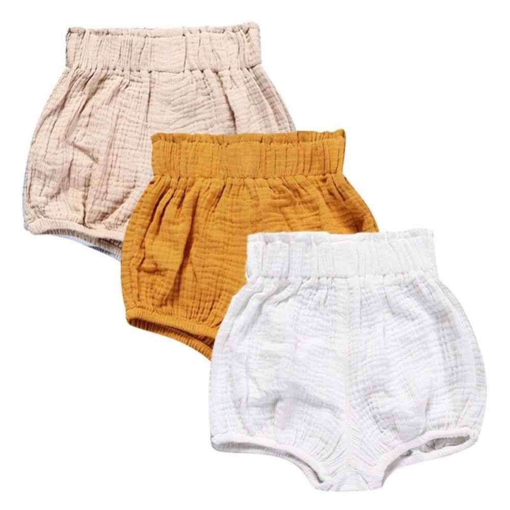 Hot Newborn Toddler Kids Baby Boy Girl Cotton Bottom Infant Bloomer Briefs Diaper Cover Panties 9-24M