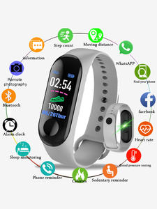 Pedometer Bracelet Monitor Wristband Smart-Watch Blood-Pressure-Heart-Rate Android Sport