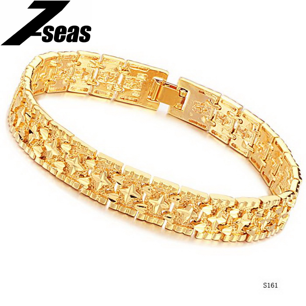 7seas Korean Style Fashion Gold Color Men Bracelet Noble. Porcelain Rings. Branch Rings. 2ct Sapphire. Enhanced Diamond. 11 Inch Gold Ankle Bracelet. Character Watches. Jazz Bands. Ghs Diamond