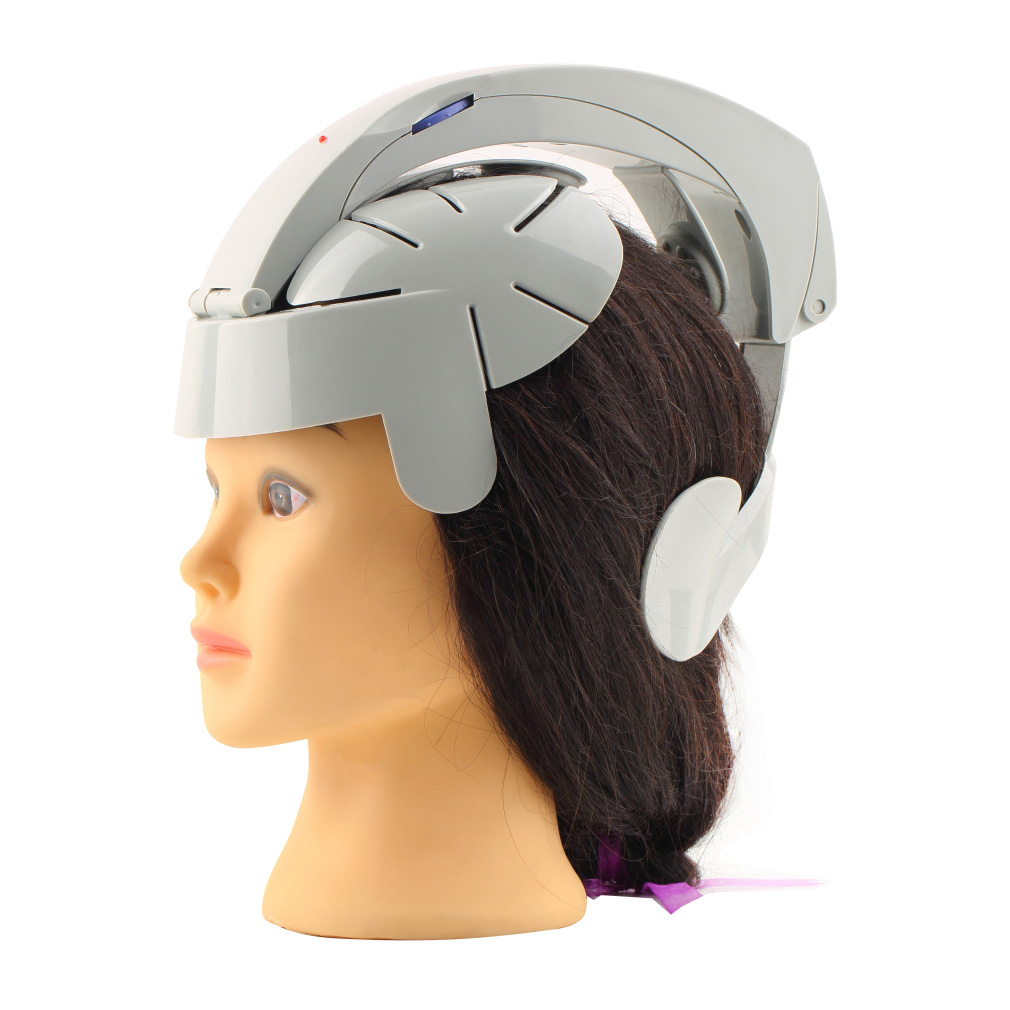 Hot Selling Humanized Design Electric Head Massager Brain Massage Relax Easy Acupuncture Points Fashion Gray Health Care Home humanized design electric head massager brain massage relax easy acupuncture points fashion gray health care home