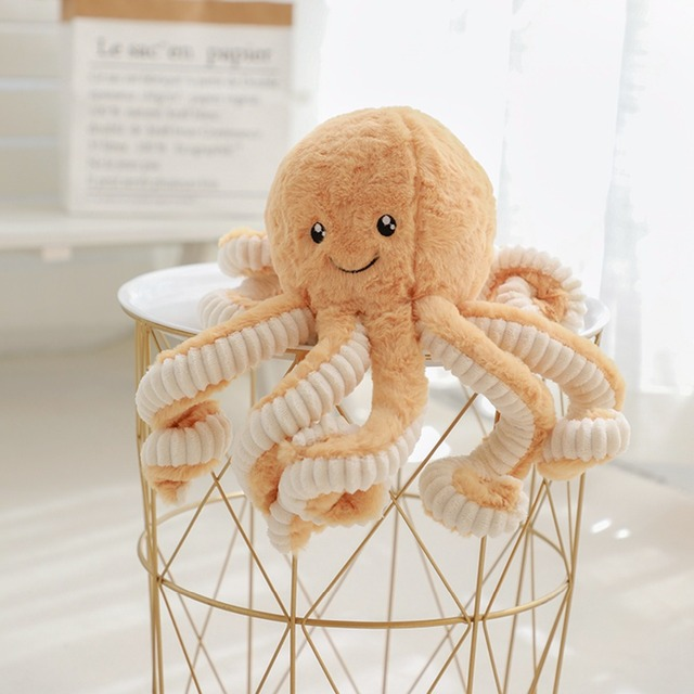 Kid's Cartoon Style Octopus Plush Toy 5