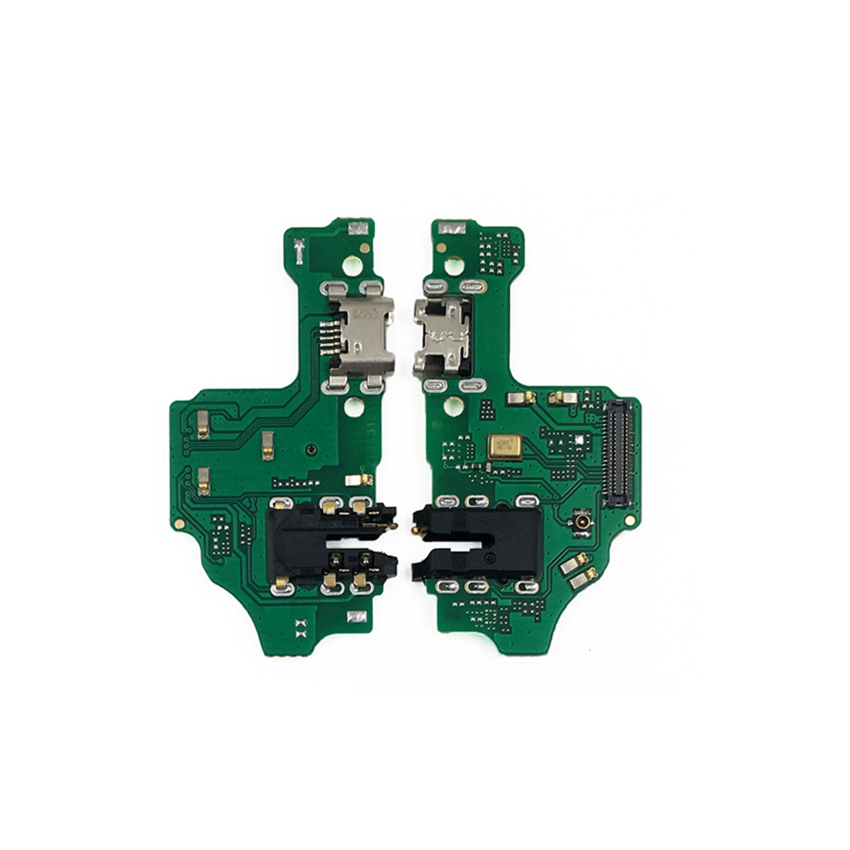 USB Charger Port Flex Cable For Huawei Honor 8X Charging Dock Connector PCB Board Ribbon Flex + Headphone Jack Audio Repair Part